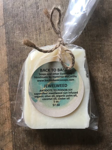 Back to Basics - Jewelweed Soap