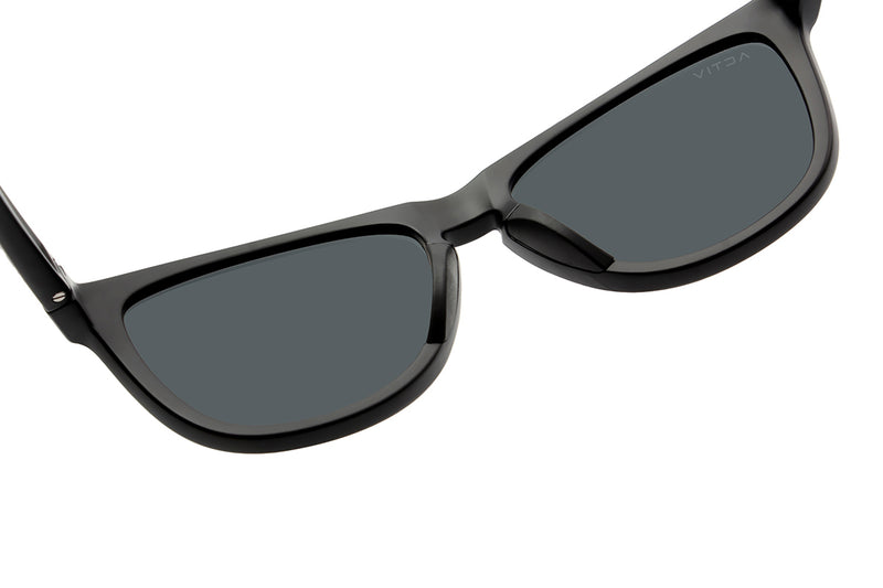 Activ One -  Matte Black w. Blue Mirror Lens