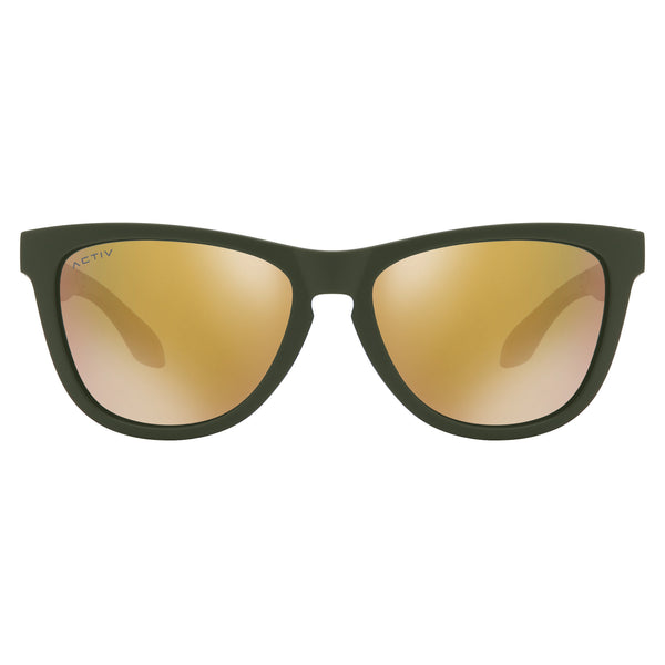 Activ One - Matte Olive w. Rose Gold Lens