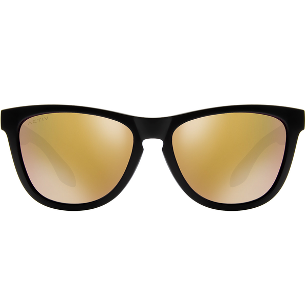 Activ One - Matte Black w. Rose Gold Lens