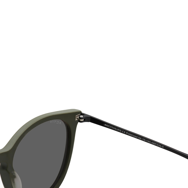 T2B Matte Olive With Cool Grey Lens