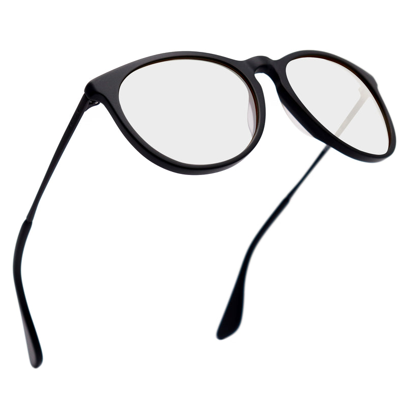 T2B Matt Black Blue Light Blockers - Day