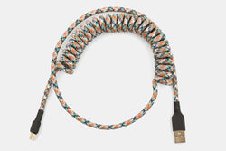 Nylon Coiled Mechanical Keyboard USB Cables