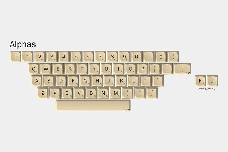 Massdrop x Hasbro XDA Scrabble Custom Keycap Set