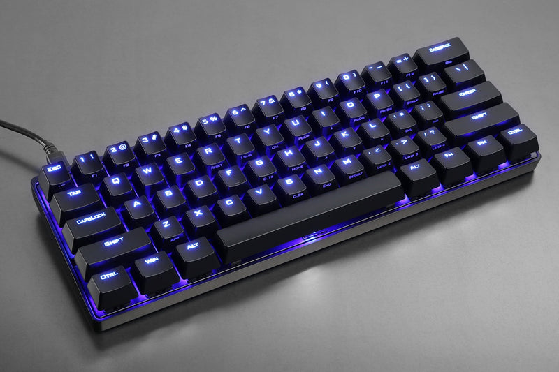 Vortex ABS Shine Through POK3R Keycaps