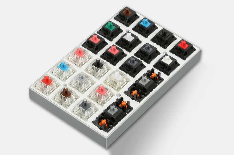 Vortex 22-Key DIY Switch Tester Kit Components