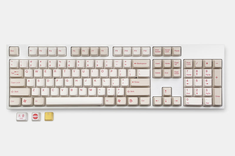 Tai-Hao Triple Play: ABS Doubleshot Keycap Sets