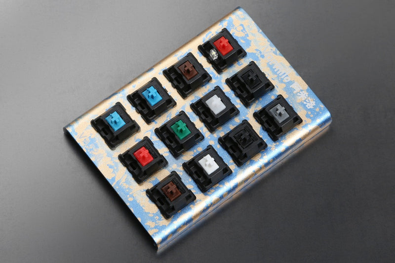 Varmilo Switch Tester with Anodized Case