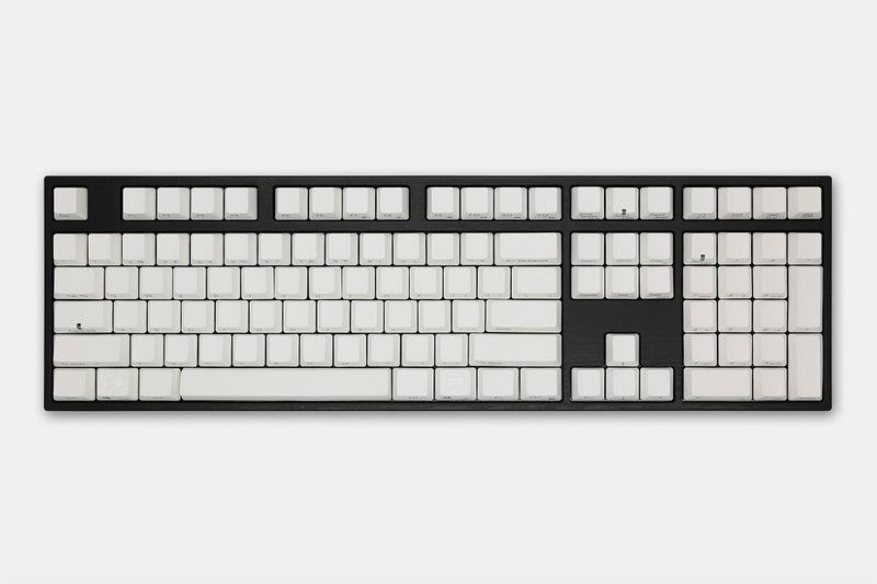 Varmilo Milk White VA108M Mechanical Keyboard (Side Printed Keycaps)