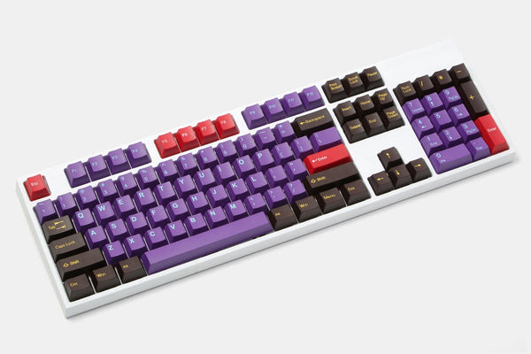 Tai-Hao Cubic ABS Doubleshot Keycap Set