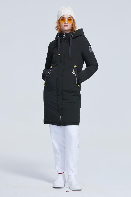 MIMMI Warm Casual Coat With Hat