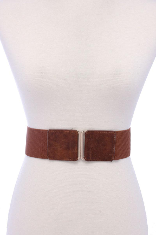 Pu Leather Elastic Belt - Nellie's Way Beauty, Inc.