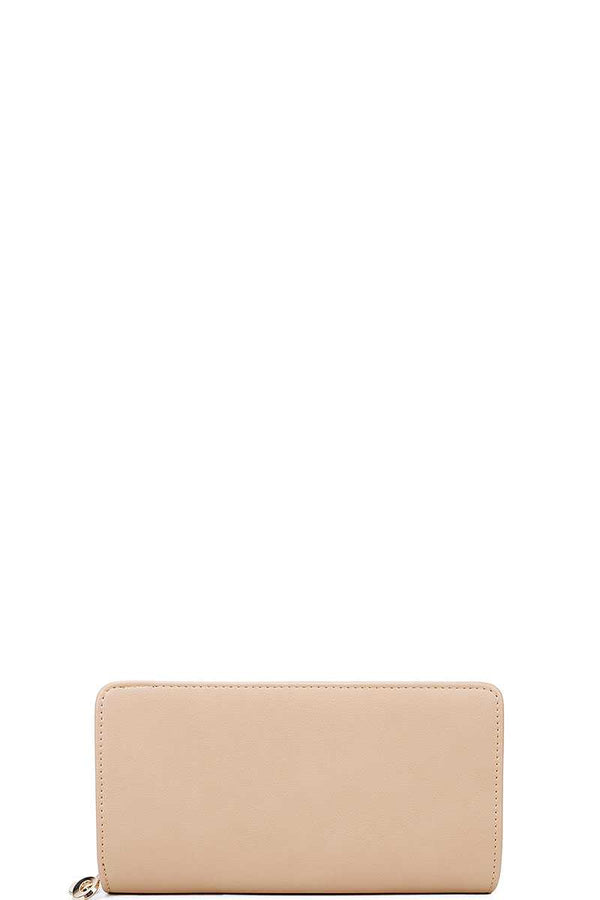 Fashion Solid Color Long Wallet - Nellie's Way Beauty, Inc.