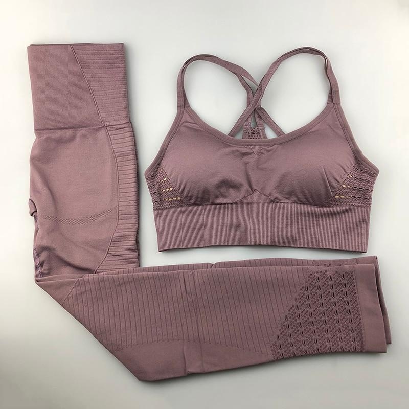 Nellie's Way Active Wear-Seamless Yoga Set - Nellie's Way Beauty, Inc.