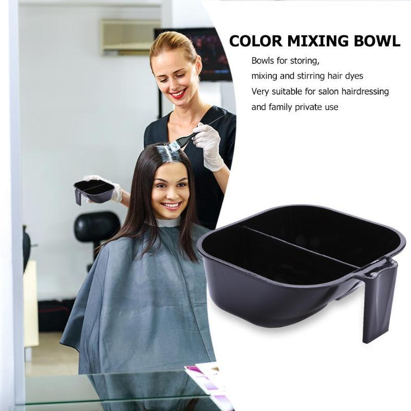 2 in 1 Dyeing Bowl Hair Color Mixing Bowl Dye Stirrer - Nellie's Way Beauty, Inc.