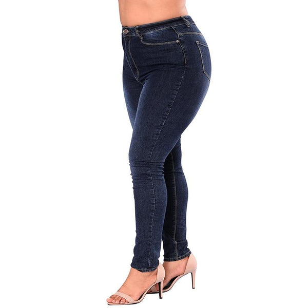 Nellie's Way Beauty- High-waisted Jeans - 5XL 6XL 7XL - Nellie's Way Beauty, Inc.