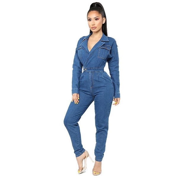 Nellie's Way Beauty- Jean Romper - Nellie's Way Beauty, Inc.