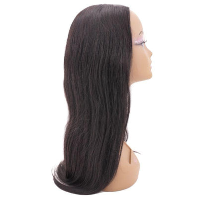 Brazilian Straight U-Part Wig - Nellie's Way Beauty, Inc.