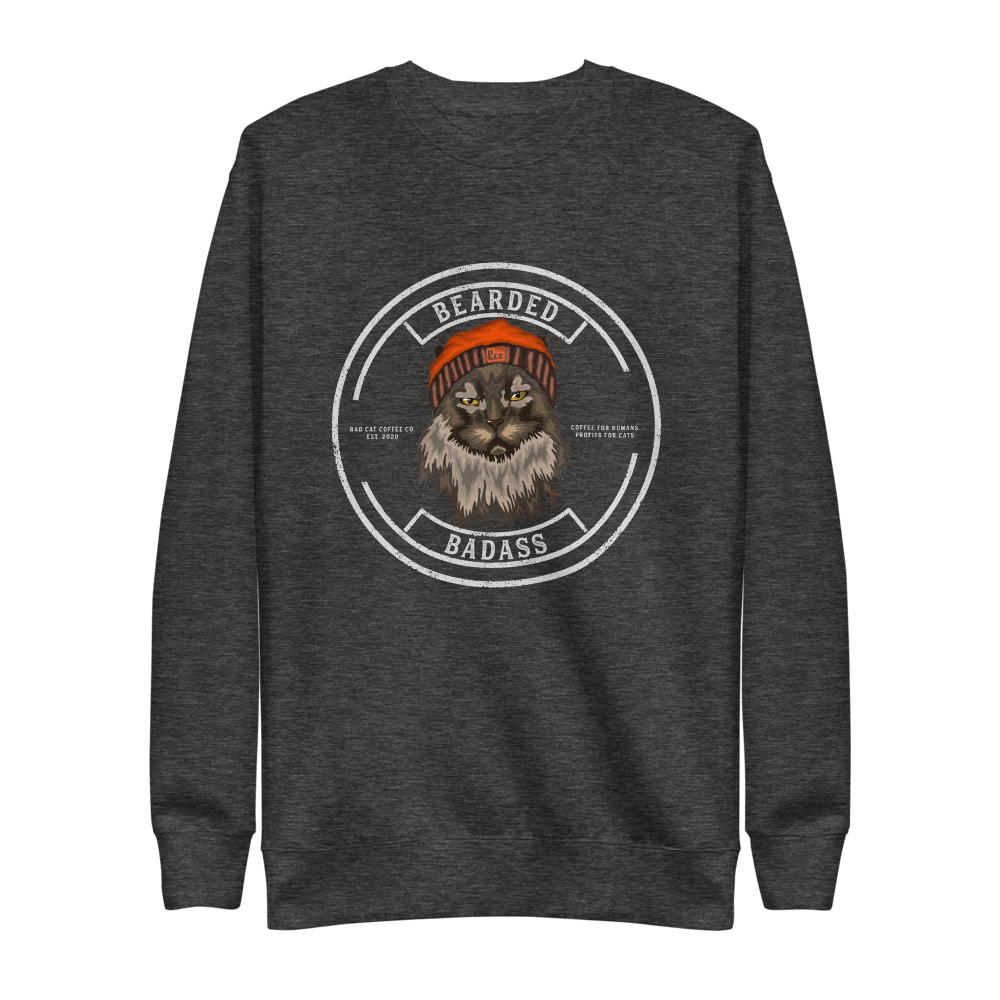 Bearded Badass Fleece Pullover