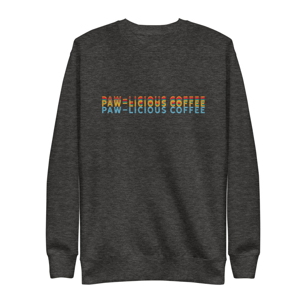 Paw-Licious Coffee Pullover