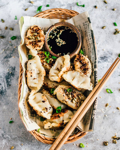 Vegan Dumplings with Sea Superfoods