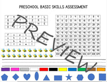 Load image into Gallery viewer, Preschool Basic Skills Assessment