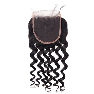 Indian Loose Curly Lace Closure