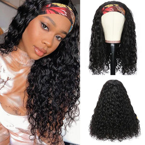Brazilian Water Wave Headband Wig