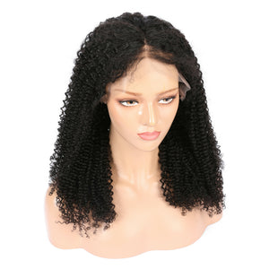 Brazilian Kinky Curly Virgin Hair Full Lace Wig