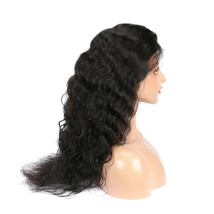 Peruvian Natural Wave Lace Front Wig
