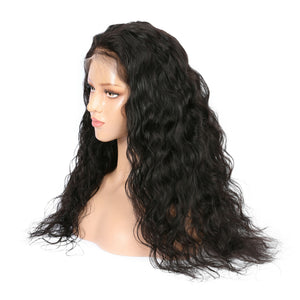 Malaysian Natural Wave Virgin Hair 360 Lace Wig