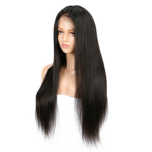 Malaysian Straight Virgin Hair 360 Lace Wig