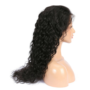 Brazilian Water Wave Virgin Hair 360 Lace Wig