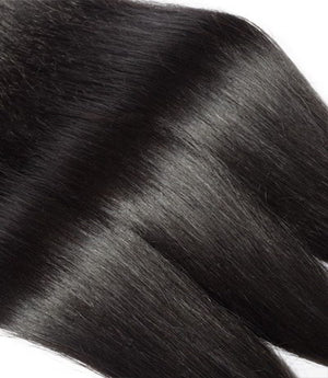 Uniquely Tamed Hair 3 bundles of Indian straight human hair