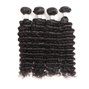 4 Bundles of Brazilian Deep Wave