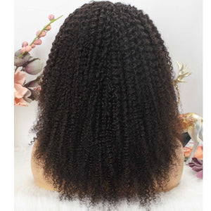 Brazilian Kinky Curly Headband Wig