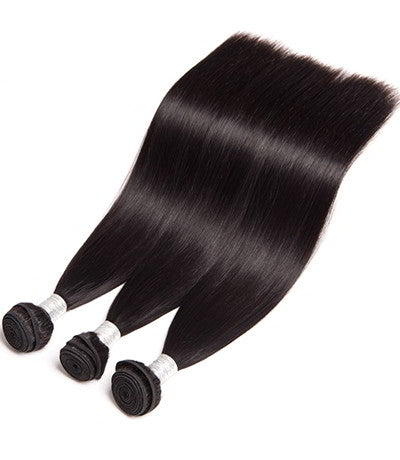 Uniquely Tamed Hair 3 Bundles of Brazilian Straight human hair