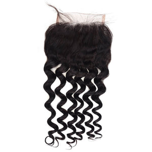 Peruvian Loose Curly Lace Closure