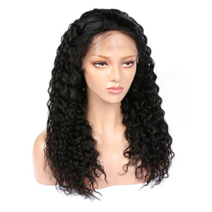 Brazilian Deep Wave Virgin Hair 360 Lace Wig
