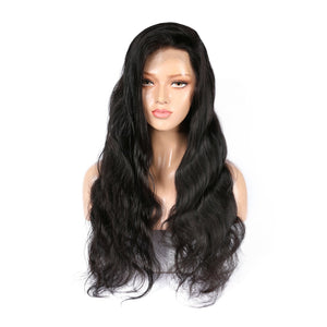 Indian Body Wave Virgin Hair 360 Lace Wig