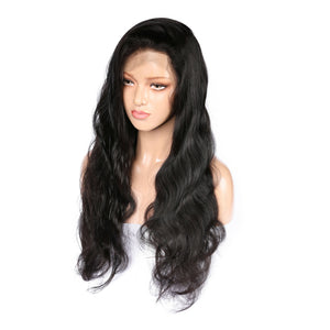 Malaysian Body Wave Virgin Hair 360 Lace Wig