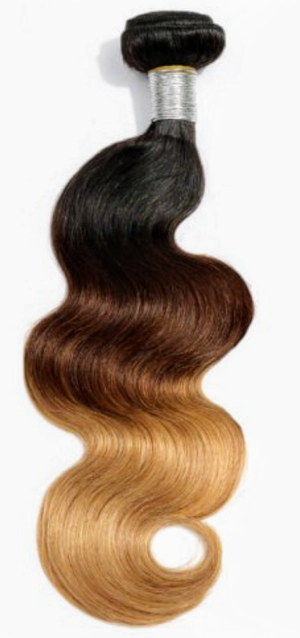 Body Wave Ombre Hair Extensions 1b/4/27