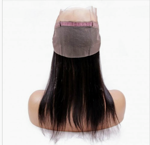 Indian Virgin Hair Straight 360 Frontal