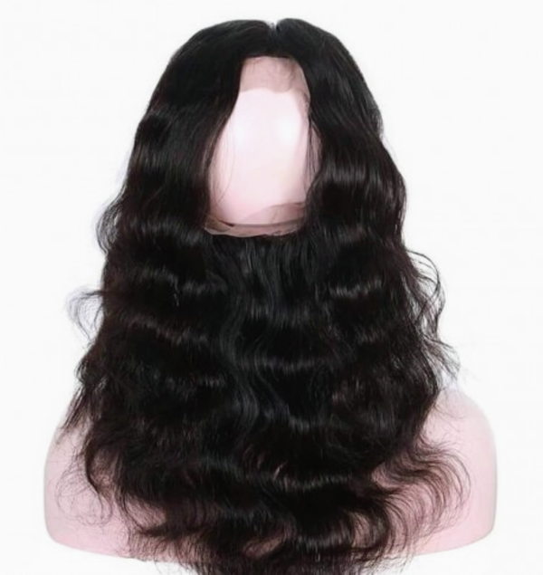 Indian Virgin Hair Body Wave 360 Frontal