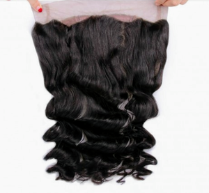 Indian Virgin Hair Loose Wave 360 Frontal