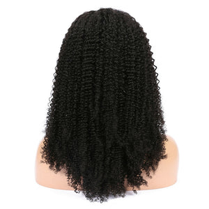 Peruvian Kinky Curly Virgin Hair 360 Lace Wig