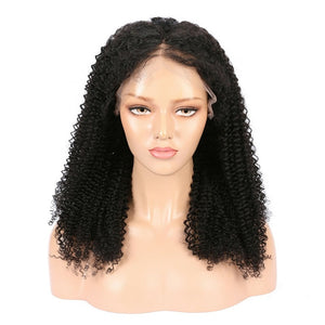 Malaysian Kinky Curly Lace Front Wig