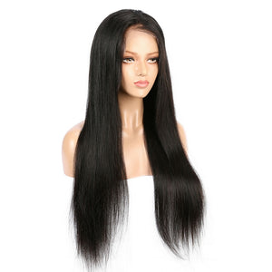 Indian Virgin Straight Hair Full Lace Wig