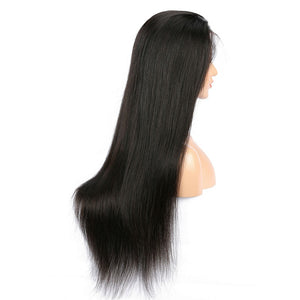 Indian Straight Hair Lace Front Wig
