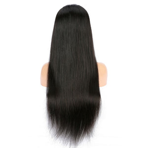 Peruvian Straight Hair Lace Front Wig